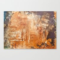 war Canvas Prints featuring War by Roquito