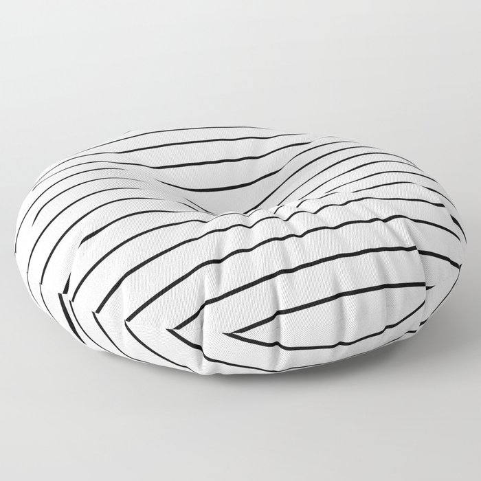 Minimal Stripes Floor Pillow