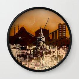 istanbul II Wall Clock