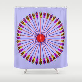 Arrows Design Shower Curtain