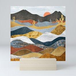 Desert Cold Mini Art Print