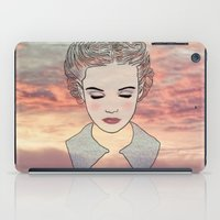 dreamer iPad Cases featuring DREAMER by Laure.B