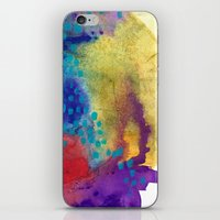 shield iPhone & iPod Skins featuring Shield by Jessalin Beutler
