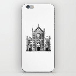 Basilica Di Santa Croce - Firenze iPhone Skin