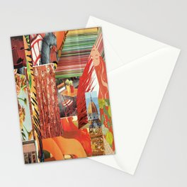 "Collage - ""Orange You Glad'"" Stationery Cards"