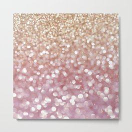 Holiday Bubbly Metal Print