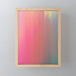 Watermelon blush (flipped) Framed Mini Art Print
