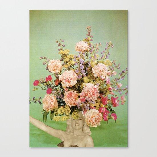 Floral Fashions II Canvas Print