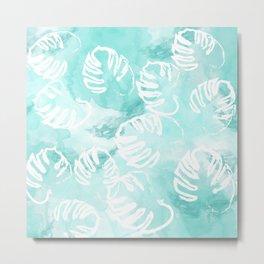 Palm Pattern Metal Print