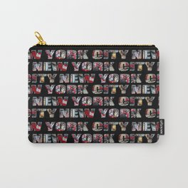 New York City (typography) Carry-All Pouch