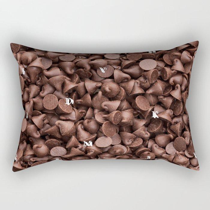 Chocolate Cone Rectangular Pillow