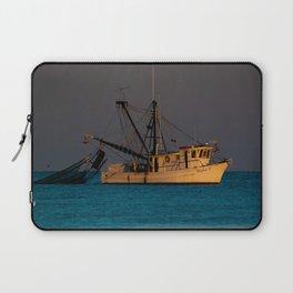 Tucker J fishing boat Laptop Sleeve