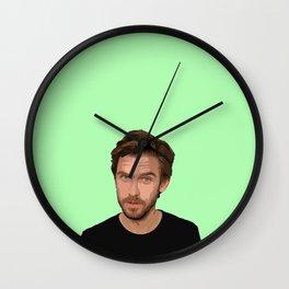 Dan Stevens 3 Wall Clock