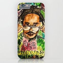 poppy,dancehall,reggae,music,lyrics,poster,jamaica,unruly,wall art iPhone Case