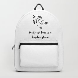 We found love Backpack
