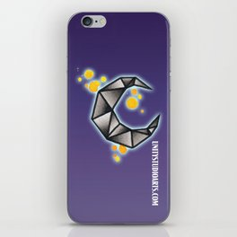 Fracture Moon iPhone Skin