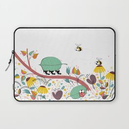 Three Ants in a Row Laptop Sleeve