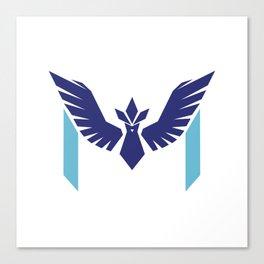 Team Mystic M Canvas Print