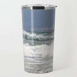 Ocean Waves Travel Mug