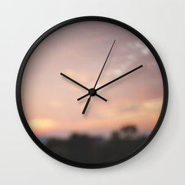 Memory of a Sunset Wall Clock