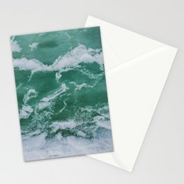 Winter sea Stationery Cards