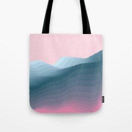iso mountain Tote Bag