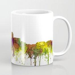 Des Moines, Iowa Skyline SG - Safari Buff Coffee Mug