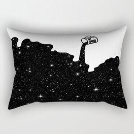 Space Paint Rectangular Pillow