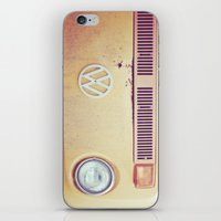 vw bus iPhone & iPod Skins featuring vw by shannonblue