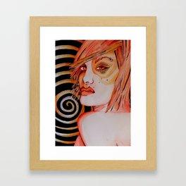 Gutsy Girl Framed Art Print