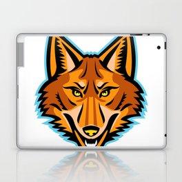 Coyote Head Front Mascot Laptop & iPad Skin