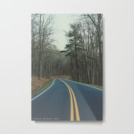 Road to finding yourself Metal Print