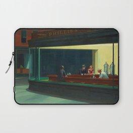 Nighthawks by Edward Hopper Laptop Sleeve