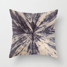 grey boho vibes Throw Pillow