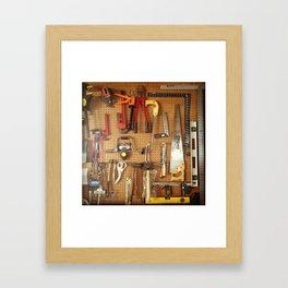 The Tools to Create Framed Art Print