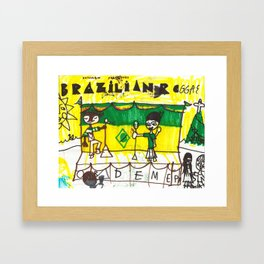Brazilian Reggae Framed Art Print