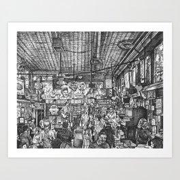 Robert's Western World Art Print