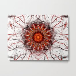 Scorching Sun Metal Print