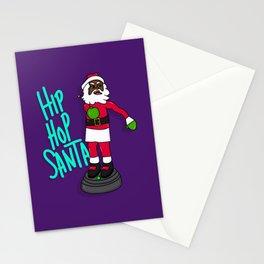 Hip Hop Santa Stationery Cards