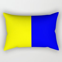 International maritime signal flag sea alphabet collection letter k Rectangular Pillow