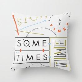 Haikuglyphics - Thyme Throw Pillow