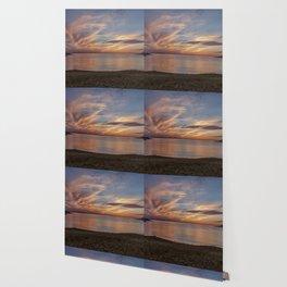 Plum Cove Beach Sunset 6-1-18 Wallpaper