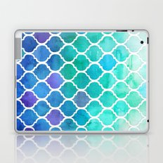 Emerald & Blue Marrakech Meander Laptop & iPad Skin