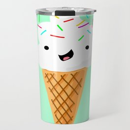 Happiness Is Sprinkles On Your Ice Cream Travel Mug