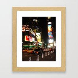 Time Square NYC Framed Art Print