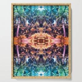 Acid Tropic Kaleidoscope Serving Tray