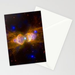 1839. Mz 3, BD+30-3639, Hen 3-1475, and NGC 7027: Planetary Nebulas - Fast Winds from Dying Stars Stationery Cards