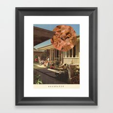 Epistaxis Framed Art Print