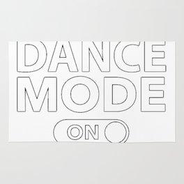 Dance Mode On Rug