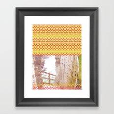 AZTEC 'Door Into Summer'_1-1 Framed Art Print